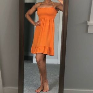 LOFT Orange Dress